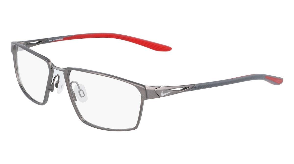 Nike 4310 009 - Satin Gunmetal / University Red