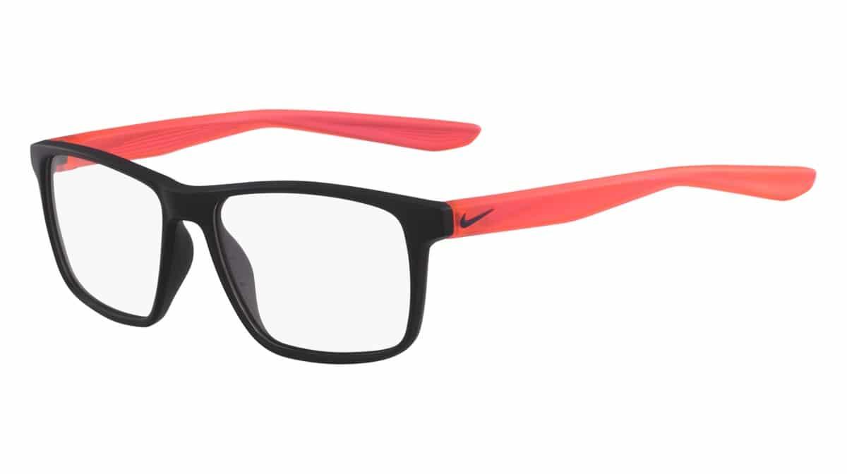 Nike 5002 002 - Matte Black / Solar Red