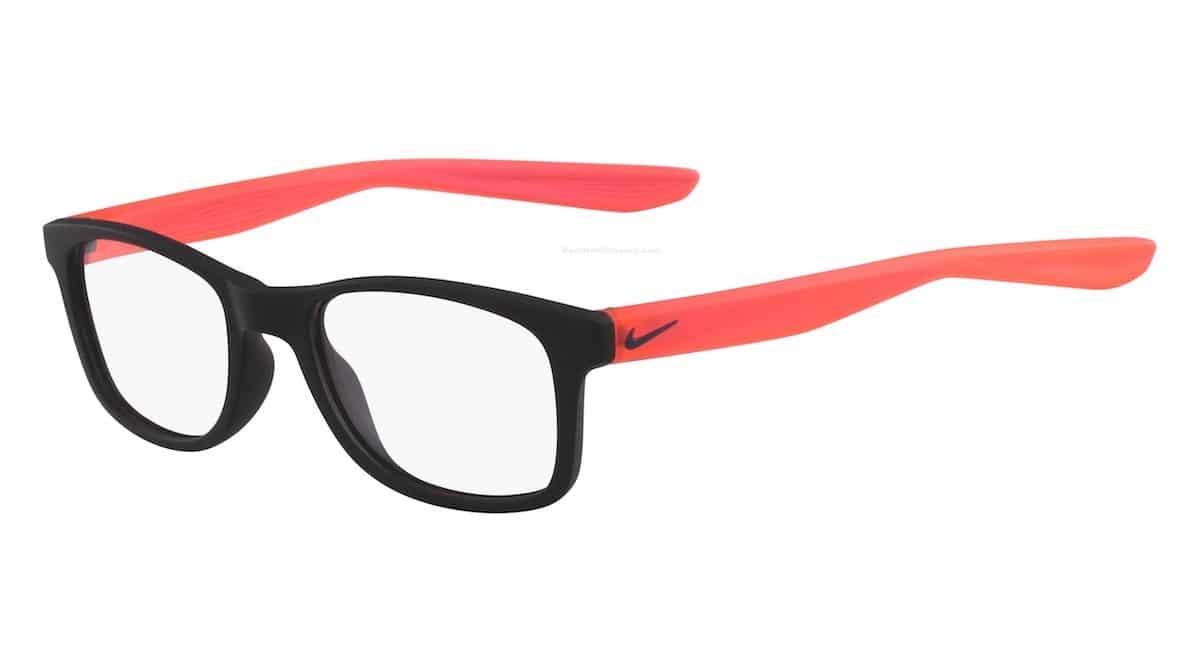 Nike 5004 002 - Matte Black / Solar Red