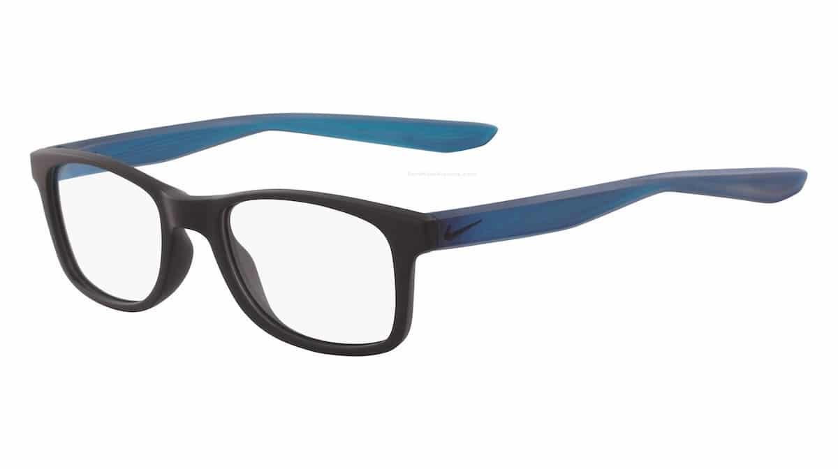 Nike 5004 004 - Matte Black / Blue