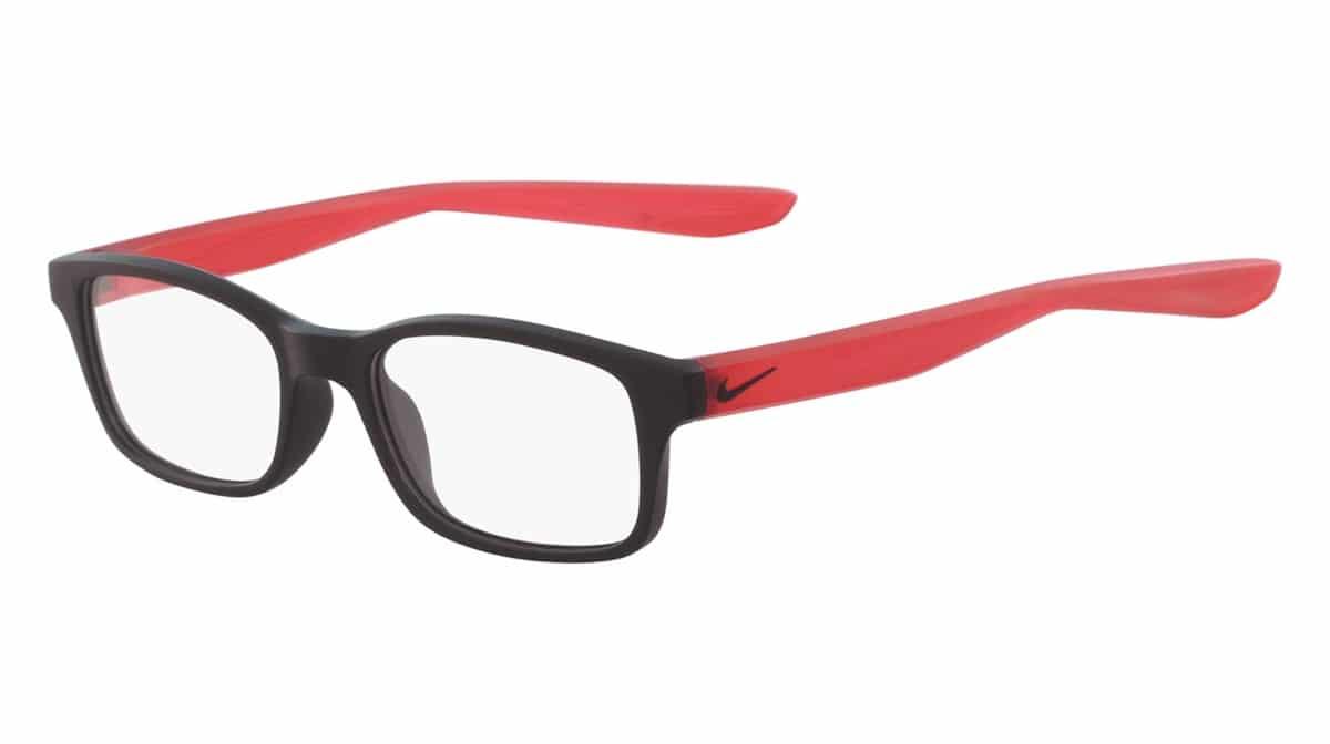 Nike 5005 006 - Matte Black / Red