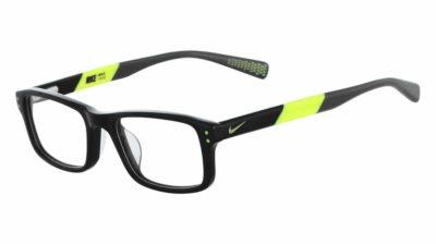 Nike 5537 001 - Black / Volt
