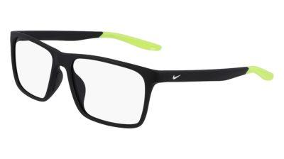 Nike 7116 007 - Matte Black / Volt