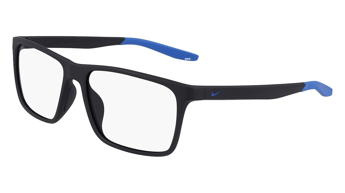 Nike 7116 034 - Matte Gridiron / Pacific Blue
