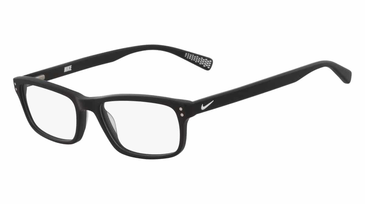 Nike 7237 003 - Matte Black / White