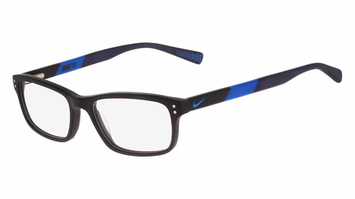Nike 7237 011 - Matte Black / Photo Blue