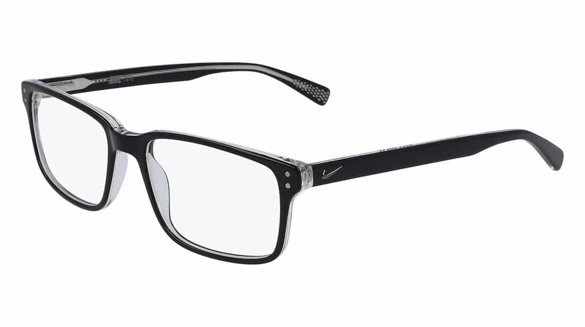 Nike 7240 002 - Black / Clear