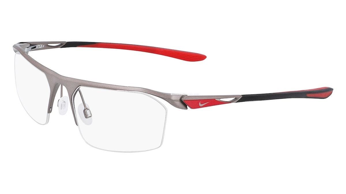 Nike 8050 065 - Satin Gunmetal / University Red