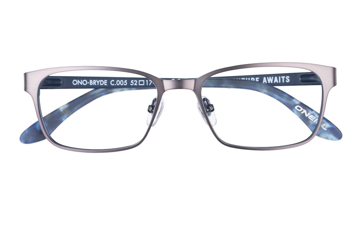O'Neill Bryde 005 - Matte Gunmetal / Blue - Front
