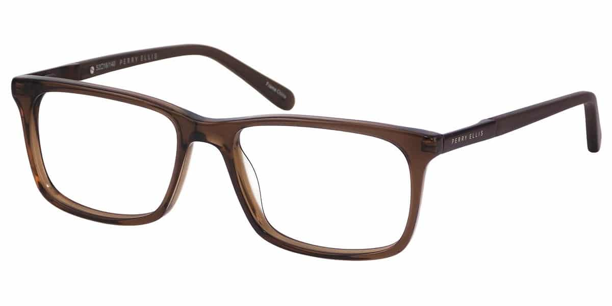 Perry Ellis PE376 1 - Brown Crystal