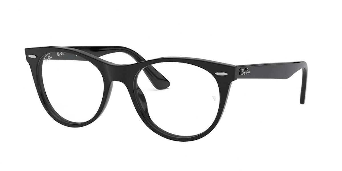 Ray-Ban RX2185VF 2000 Black Black