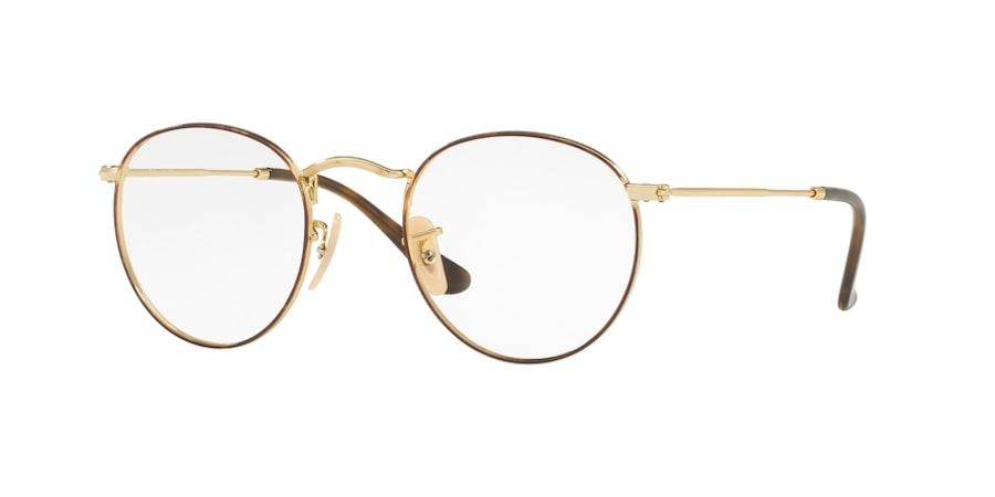 Ray-Ban RX3447V 2945 - Gold on Top Havana