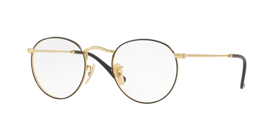 Ray-Ban RX3447V 2991 - Gold on Top Black