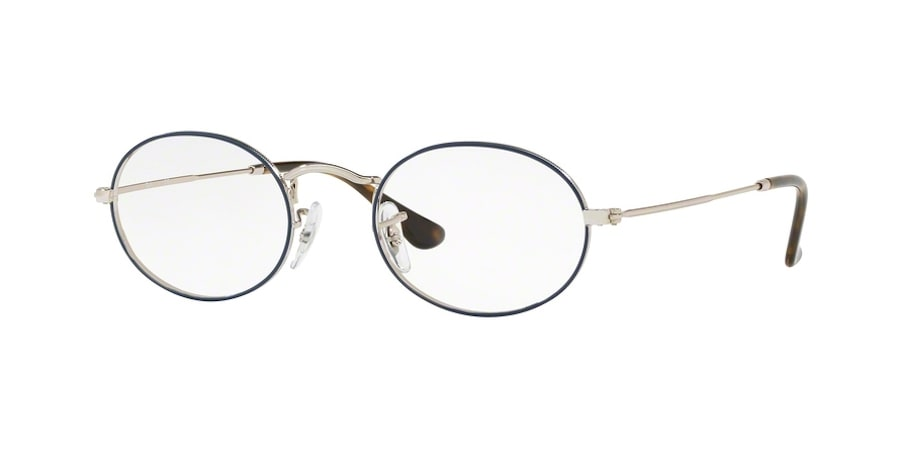 Ray-Ban RX3547V 2970 - Silver on Top Blue
