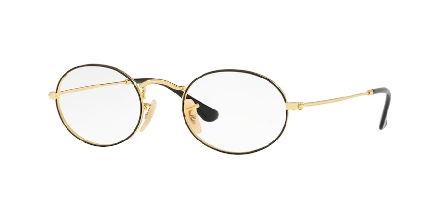 Ray-Ban RX3547V 2991 - Gold on Top Black