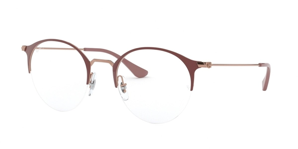 Ray-Ban RX3578V 2973 - Copper on Top Light Brown