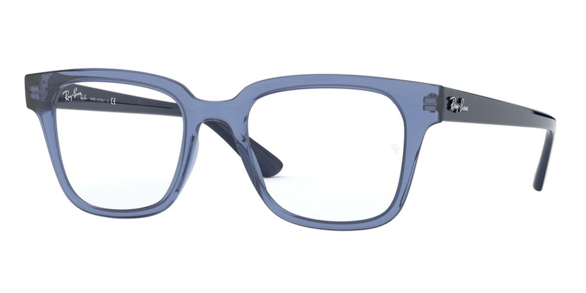 Ray-Ban RX4323V 5941 - Transparent Blue