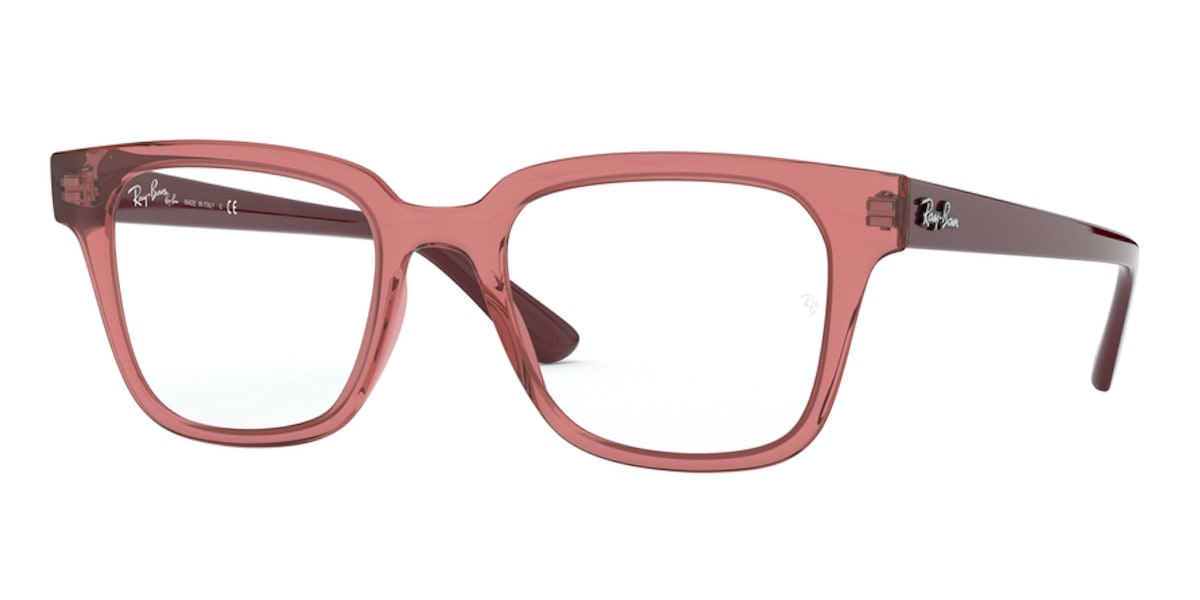 Ray-Ban RX4323VF 5942 - Transparent Light Red