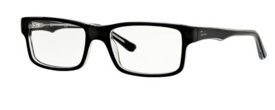 Ray-Ban RX5245 - 2034 Top Black on Transparent