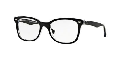 Ray-Ban RX5285 - 2034 Top Black on Transparent