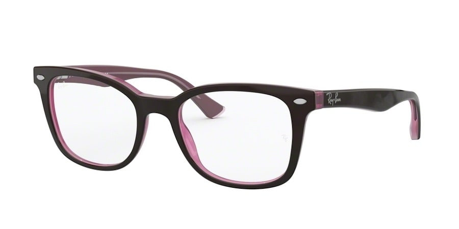Ray-Ban RX5285 - 2126 Top Brown on Opal Pink