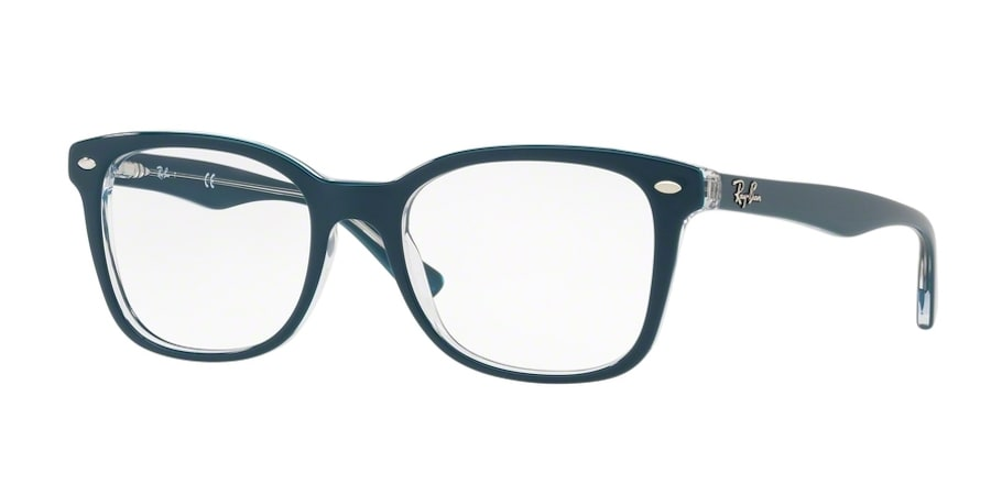 Ray-Ban RX5285 - 5763 Top Turquoise on Transparent