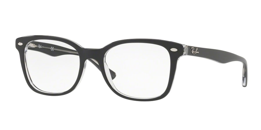 Ray-Ban RX5285 - 5764 Top Grey on Transparent