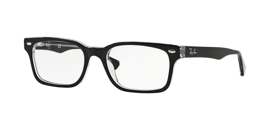 Ray-Ban RX5286 2034 - Top Black on Transparent