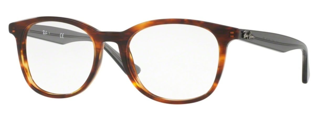 Ray-Ban RX5356 - 5607 Shiny Light Havana