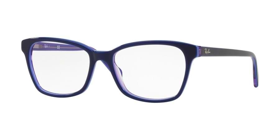Ray-Ban RX5362 5776 - Top Blue / Light Blue / Transparent Violet