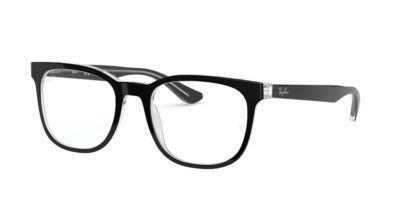 Ray-Ban RX5369 2034 - Top Black on Transparent
