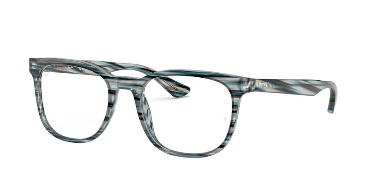 Ray-Ban RX5369 5750 - Striped Blue Grey