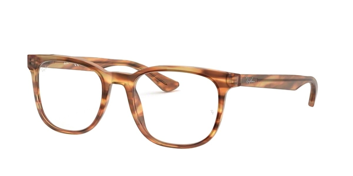 Ray-Ban RX5369F 5797 - Havana Red Brown