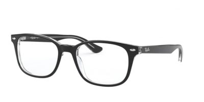 Ray-Ban RX5375 2034 - Top Black on Transparent