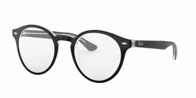 Ray-Ban RX5376 2034 - Top Black on Transparent
