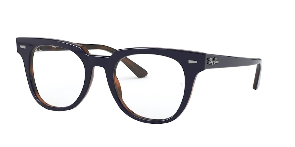 Ray-Ban RX5377 5910 - Top Blue on Havana Red