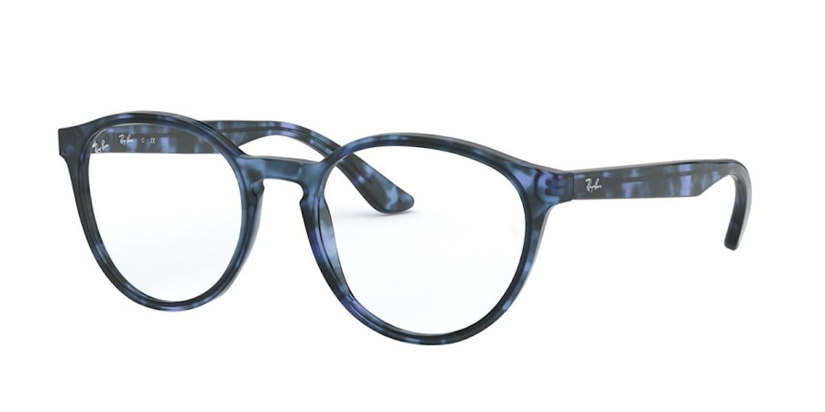 Ray-Ban RX5380F 5946 - Havana Opal Blue