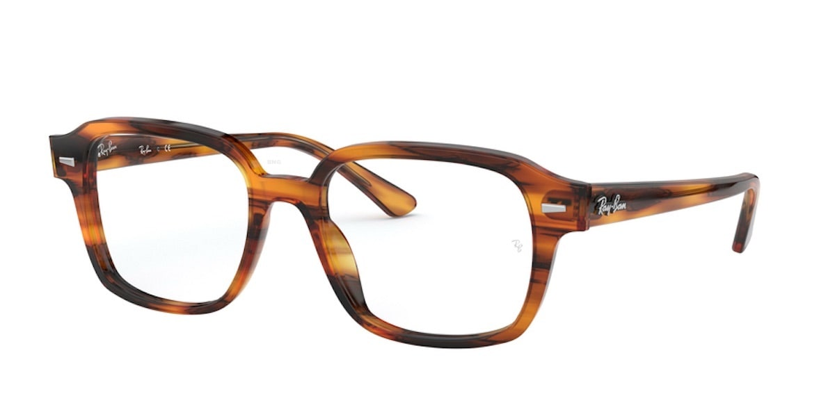 Ray-Ban RX5382 2144 - Stripped Red Havana