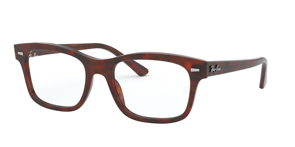 Ray-Ban RX5383F 5945 - Havana Opal Red
