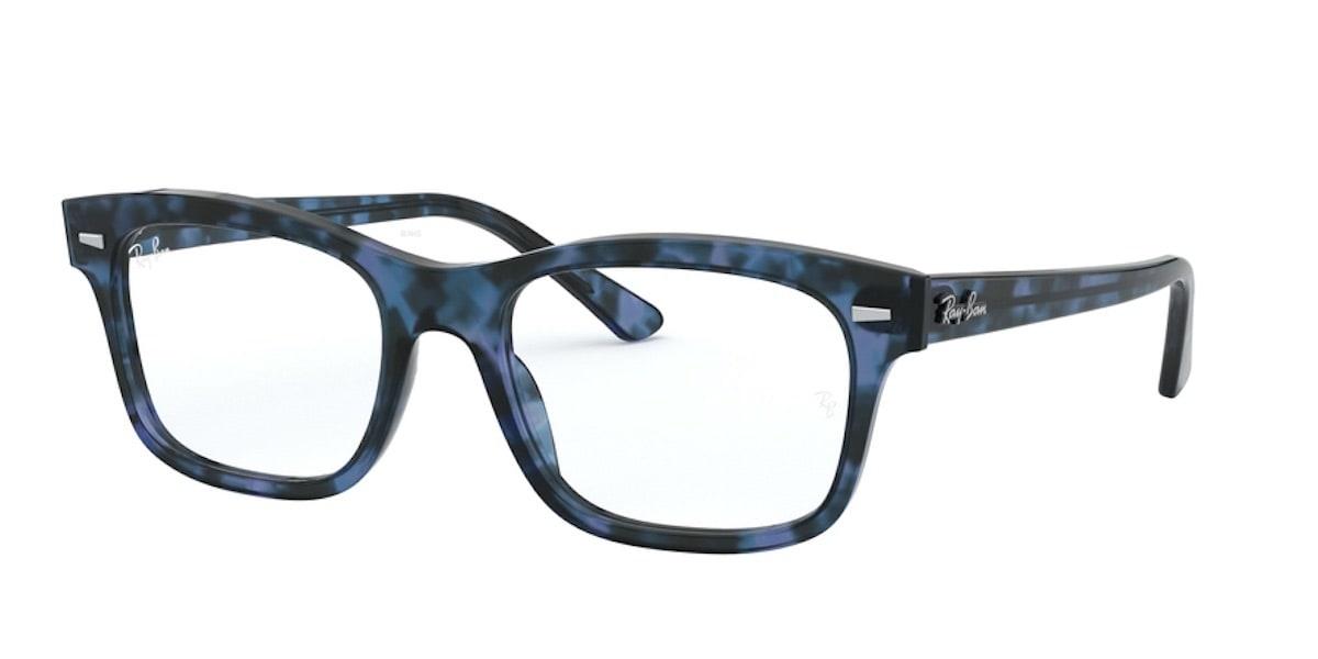 Ray-Ban RX5383F 5946 - Havana Opal Blue