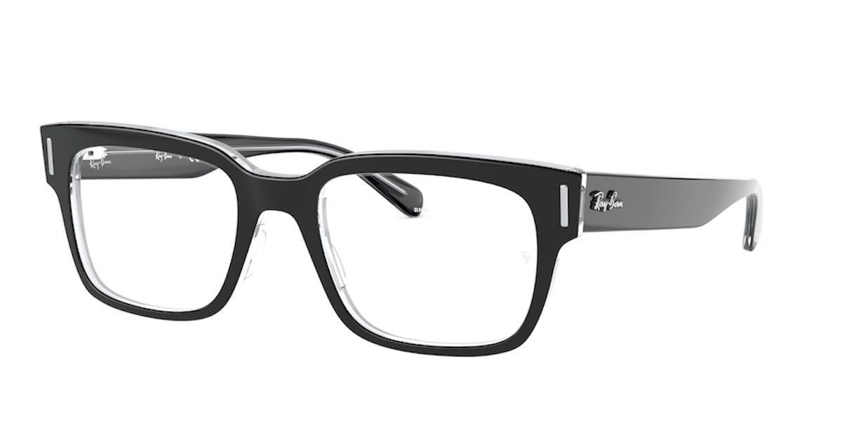 Ray-Ban RX5388 2034 - Top Black on Transparent
