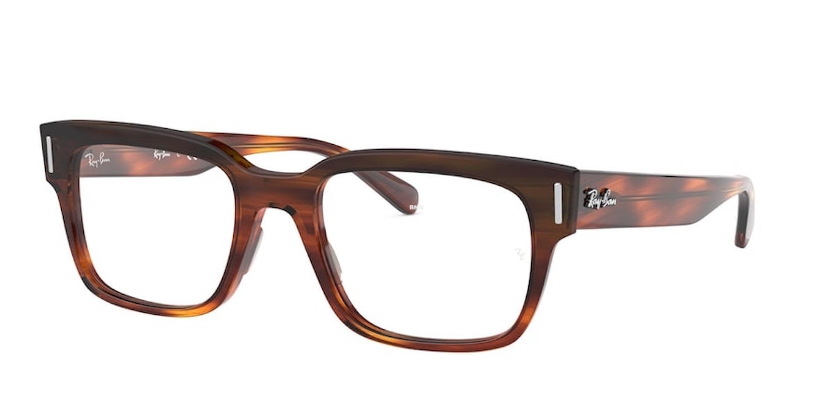 Ray-Ban RX5388 2144 - Stripped Red Havana