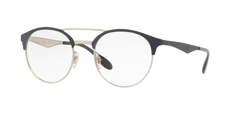 Ray-Ban RX3545V 3004 - Silver on Top Grey