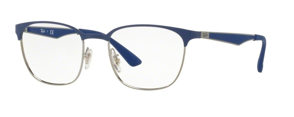 Ray-Ban RX6356 - 2876 Top Brushed Blue on Gunmetal