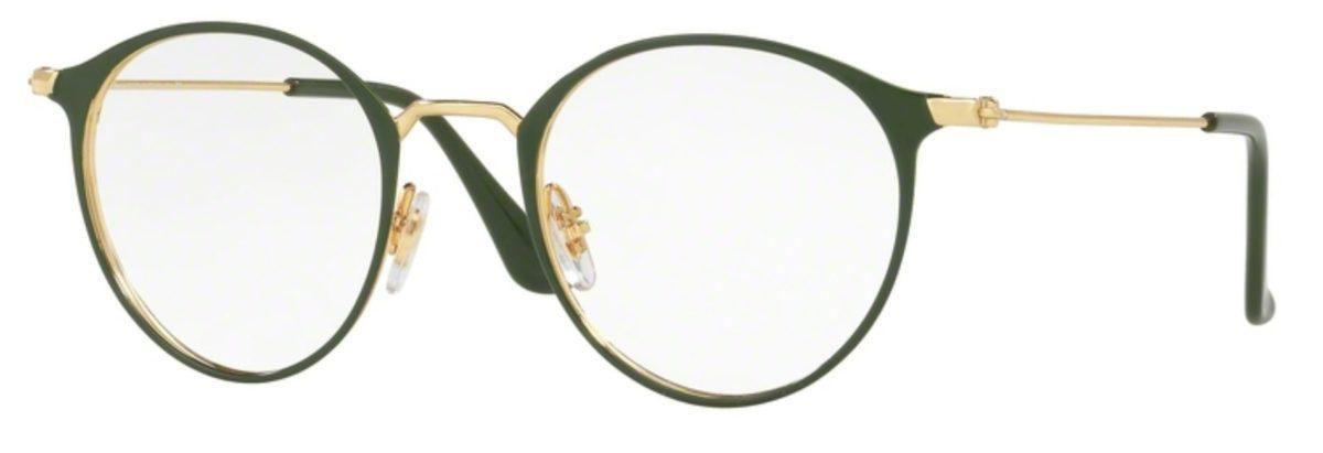Ray-Ban RX6378F - 2908 Gold / Green