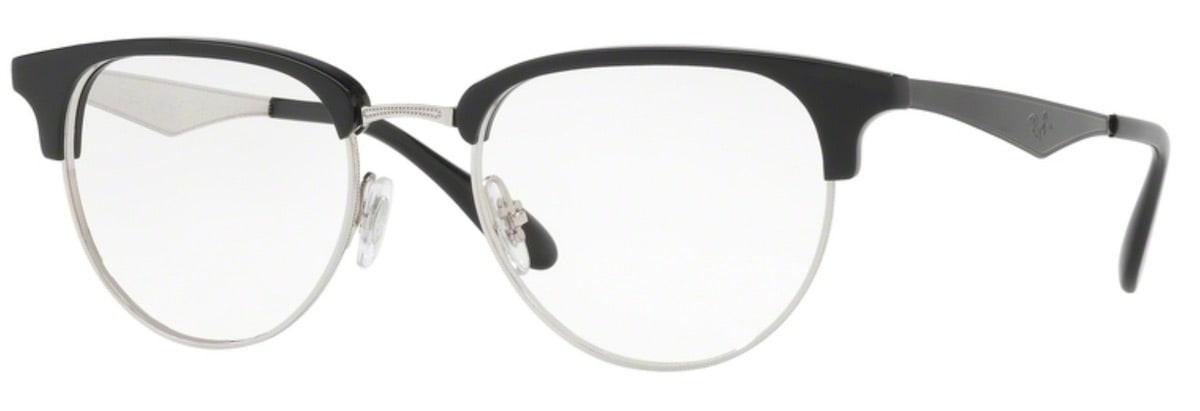 Ray-Ban RX6396 - 2932 Silver / Black