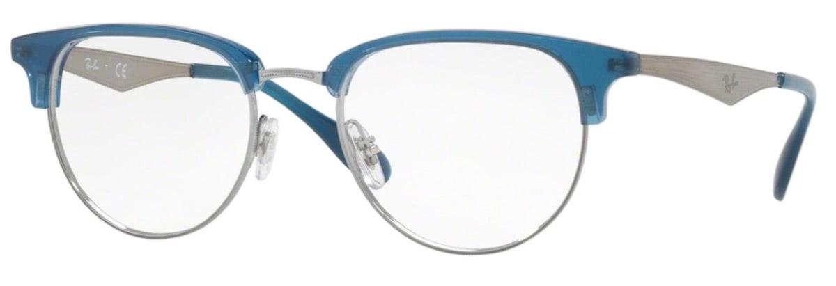Ray-Ban RX6396 - 2934 Gunmetal / Blue