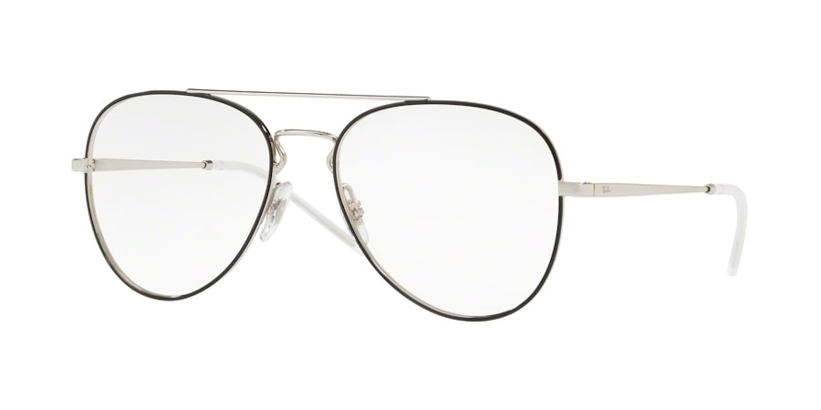 Ray-Ban RX6413 2983 - Silver Top Black
