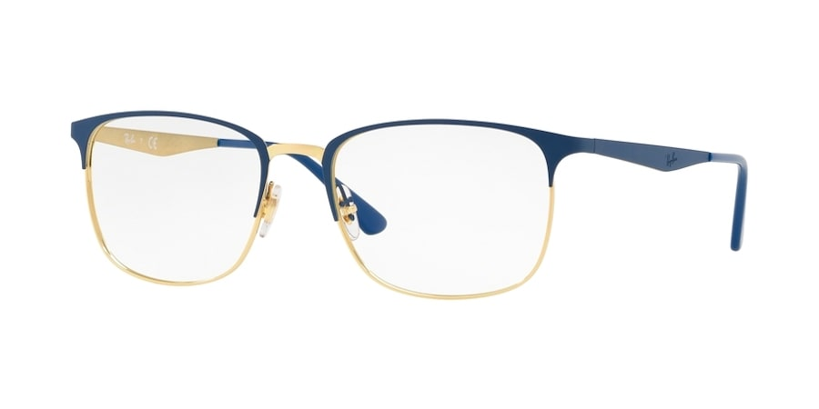 Ray-Ban RX6421 3002 - Gold on Top Matte Blue