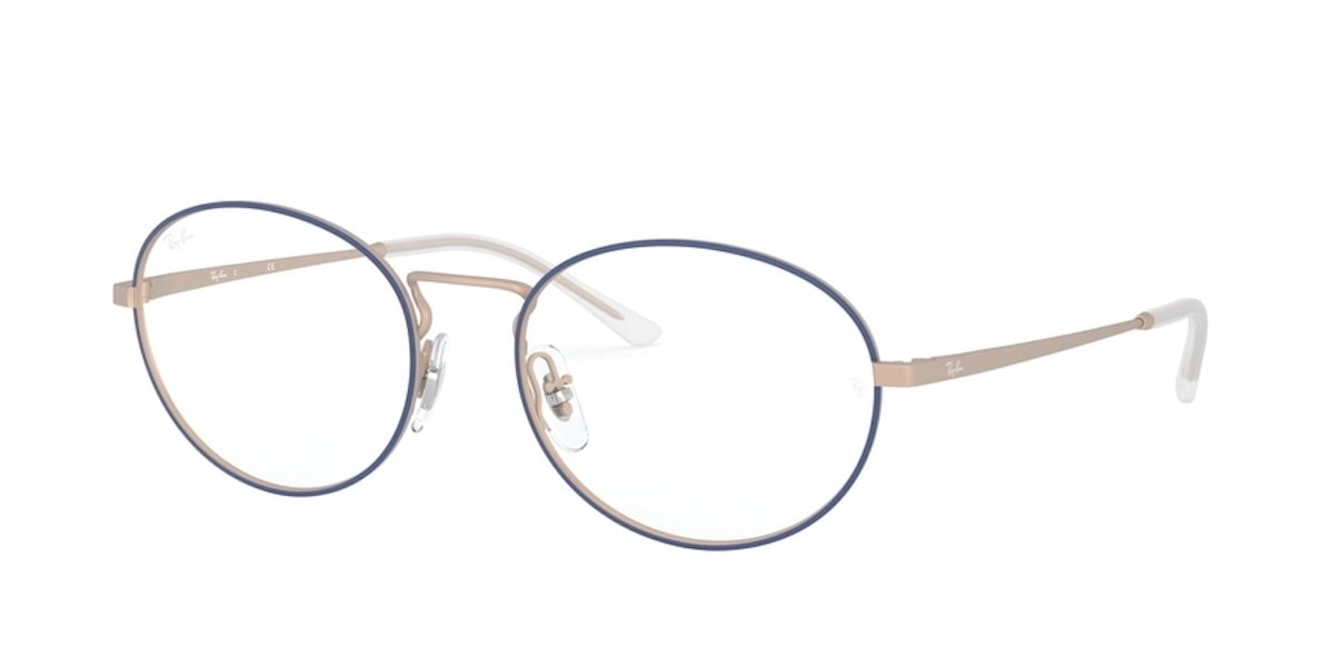 Ray-Ban RX6439 3053 - Matte Blue on Rubber Copper